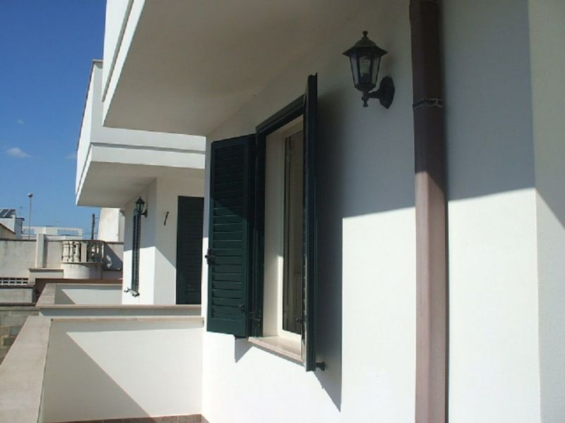 View of the property from outside Location Apartment 94486 Ugento - Torre San Giovanni