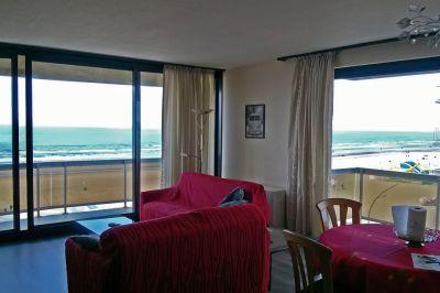 Living room Location Apartment 9555 De Panne