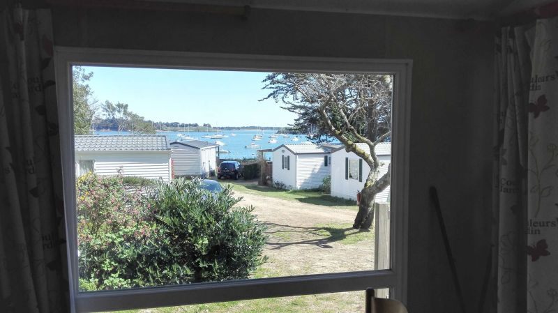 View from the property Location Mobile home 105092 Arzon