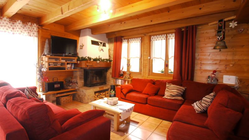 Living room Location Chalet 112178 Les Gets