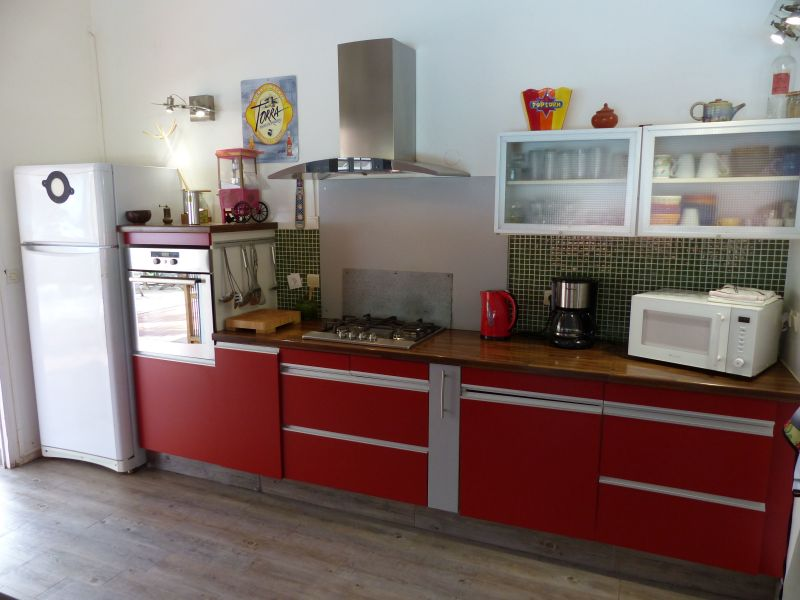Open-plan kitchen Location Villa 116237 Saint Francois