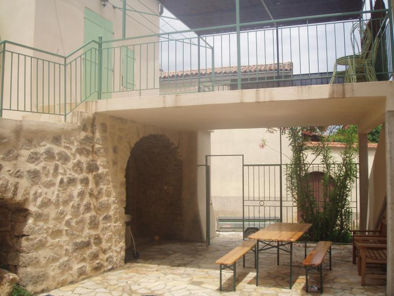 View of the property from outside Location House 71557 Aubenas