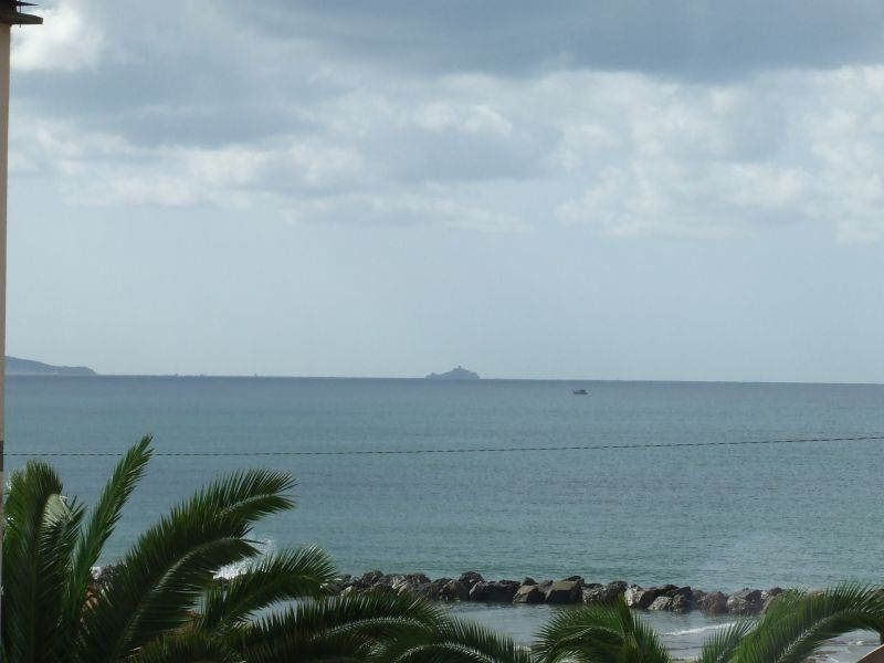 View from the balcony Location Apartment 80760 Follonica