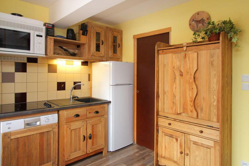 Open-plan kitchen Location Chalet 91812 Les 2 Alpes