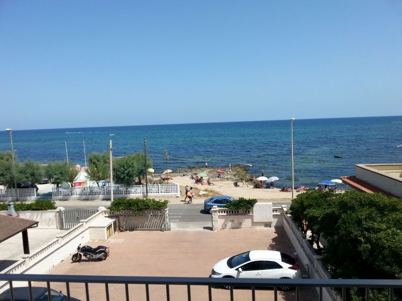 View from the balcony Location Apartment 93321 Torre Canne