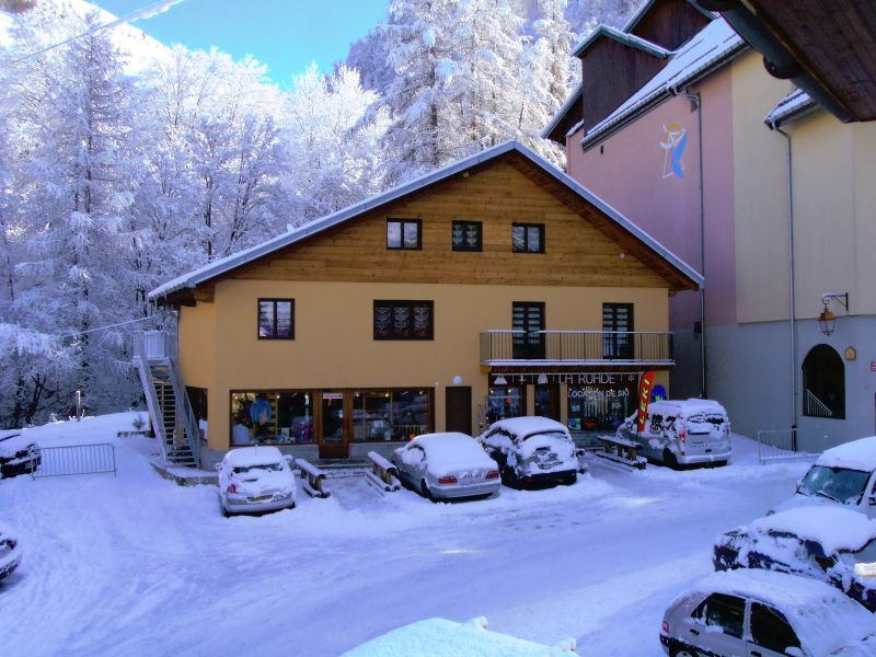 View of the property from outside Location Chalet 100651 Valloire