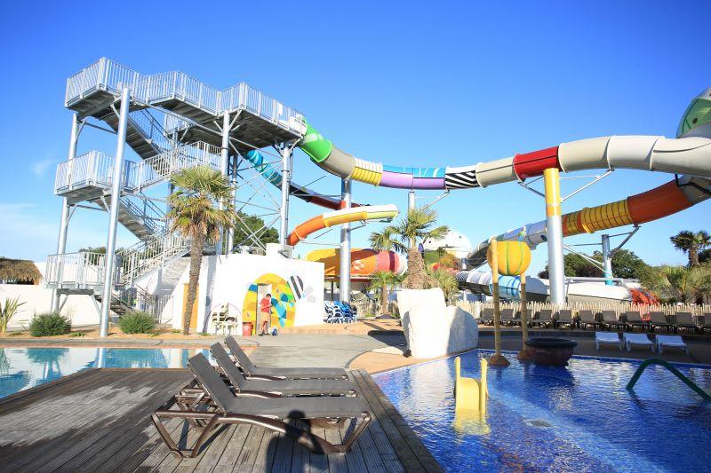 Swimming pool Location Mobile home 107395 Saint Hilaire de Riez
