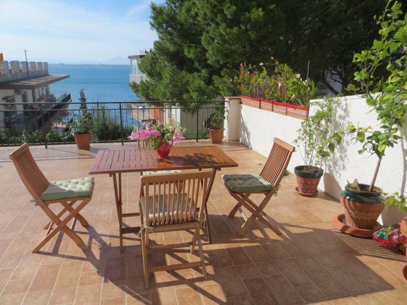Terrace Location Apartment 108266 Rosas