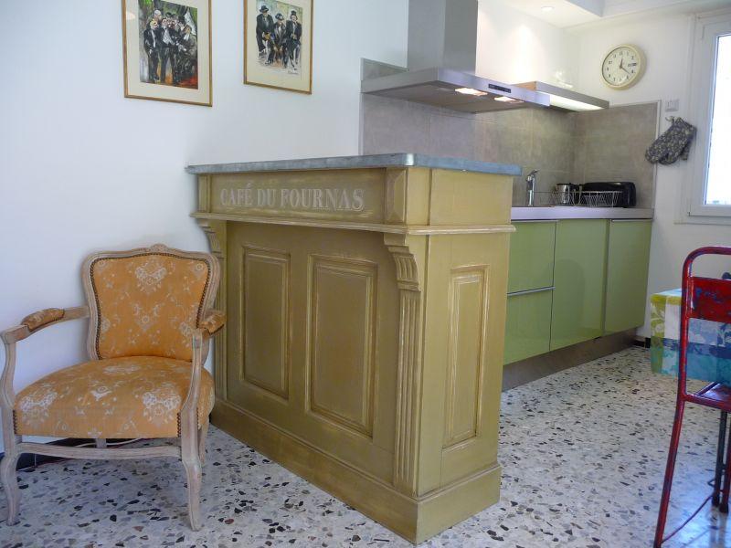 Open-plan kitchen Location Apartment 110242 Roquebrune Cap Martin