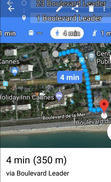 Beach Location Apartment 114426 Cannes