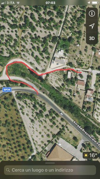 Area map Location Villa 117251 Noto