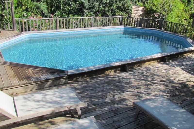 Swimming pool Location Vacation rental 118512 Bagnols sur Cèze