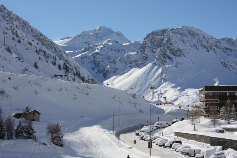 View from the terrace Location Apartment 80720 Tignes