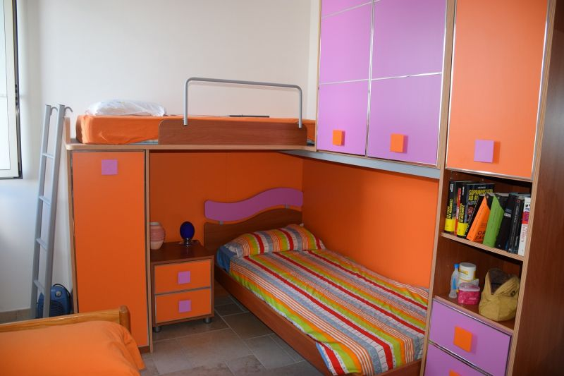 bedroom 2 Location Apartment 97328 Porto Cesareo