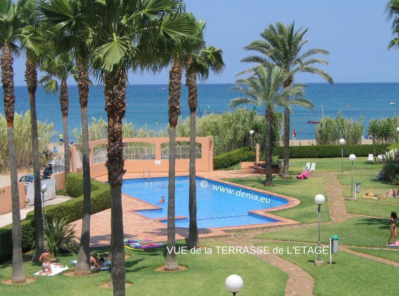 View from the terrace Location Apartment 101883 Denia