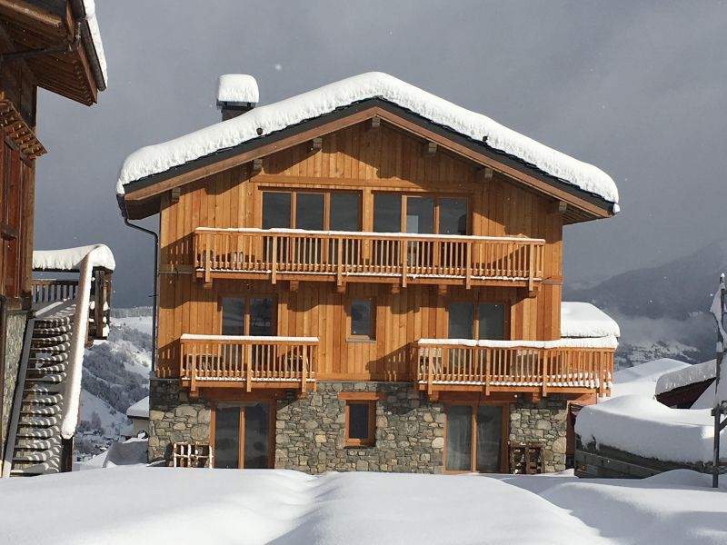 View of the property from outside Location Chalet 106383 Valmorel