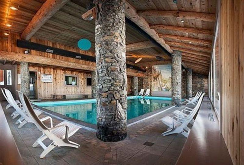 Swimming pool Location Apartment 111565 La Plagne