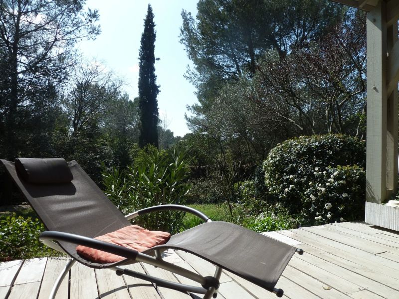 View from the terrace Location Villa 112551 Nîmes
