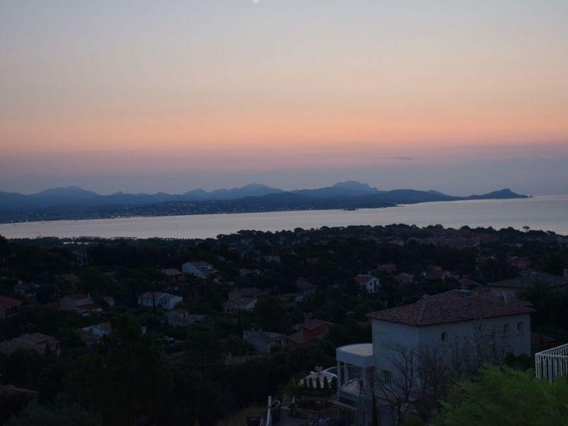 View from the balcony Location Villa 112812 Saint Aygulf