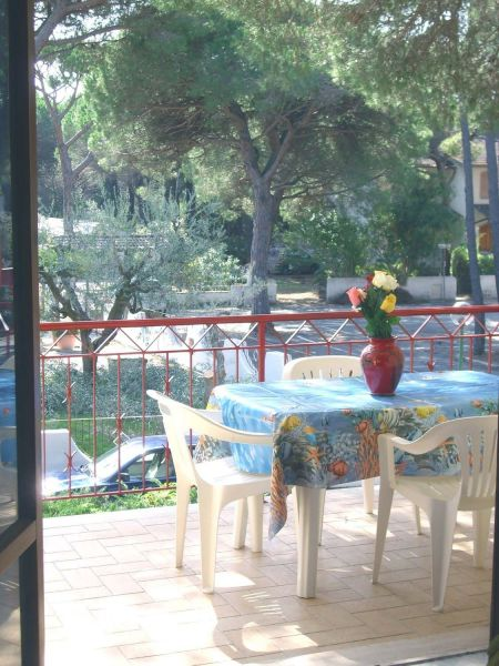 View from the balcony Location Apartment 113139 Principina a Mare