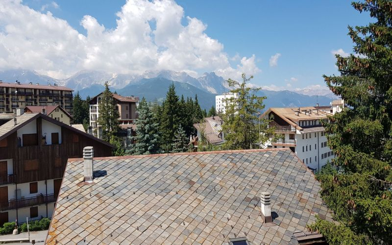 View from the terrace Location Apartment 116279 Sauze d'Oulx