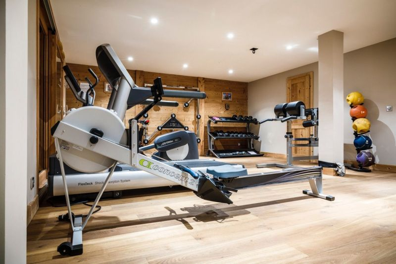 Fitness room Location Chalet 116881 Les 2 Alpes
