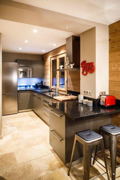 Open-plan kitchen Location Chalet 116881 Les 2 Alpes