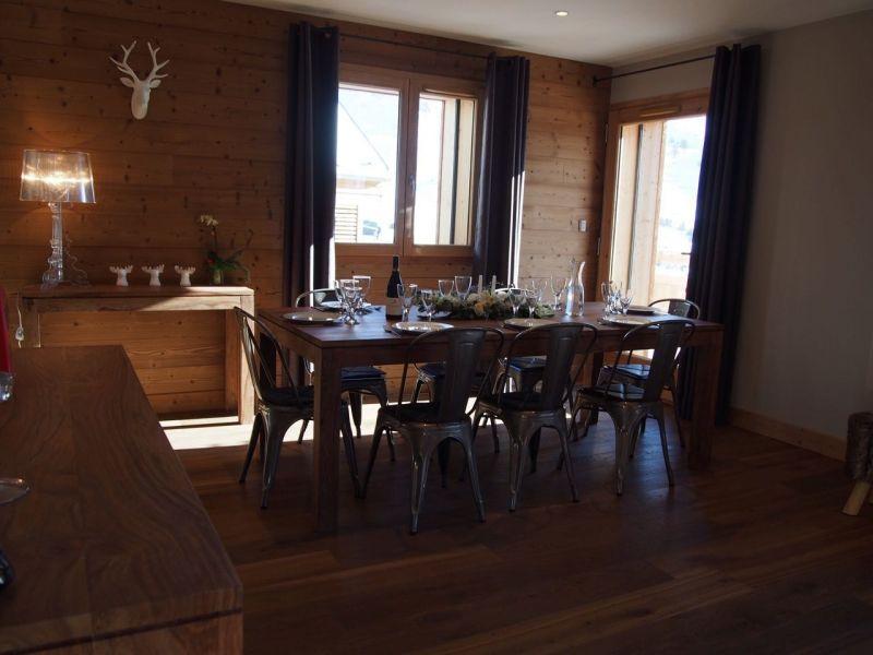 Dining room Location Chalet 116881 Les 2 Alpes