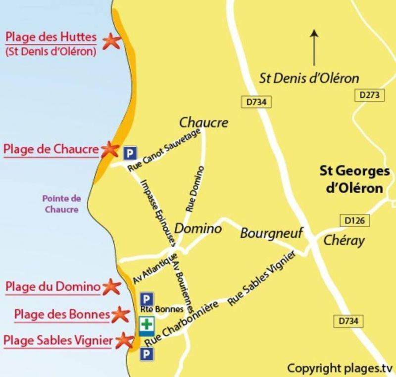 Area map Location Villa 118341 Saint Georges d'Oléron