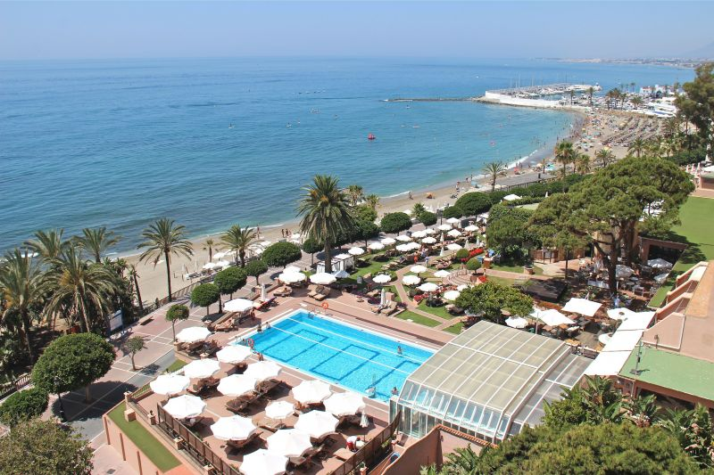 View from the terrace Location Apartment 118448 Marbella