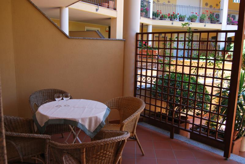 View from the balcony Location Apartment 69224 Alghero