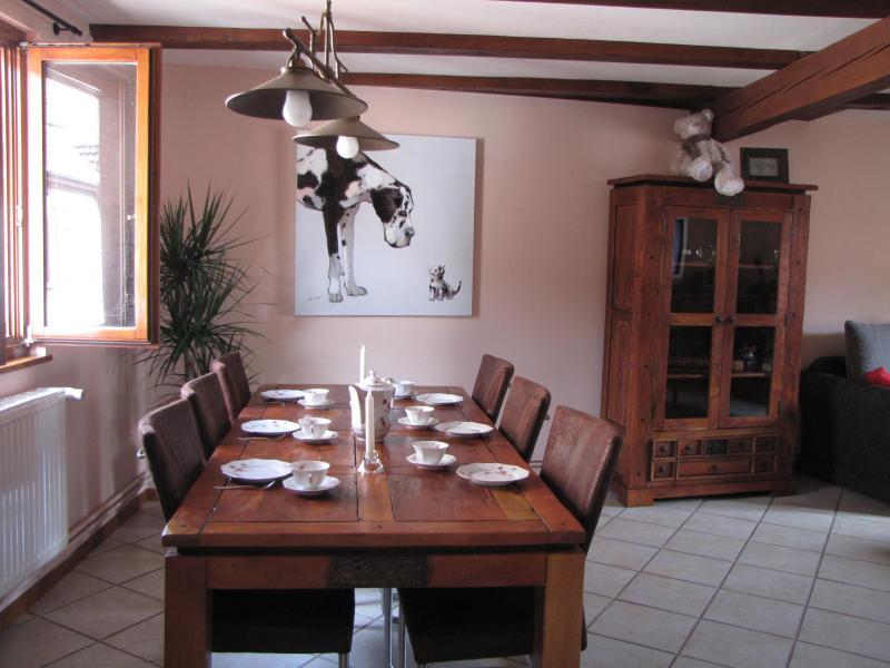 Dining room Location Apartment 79825 Ribeauvillé