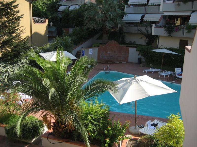 View from the terrace Location Apartment 81776 Porto Azzurro
