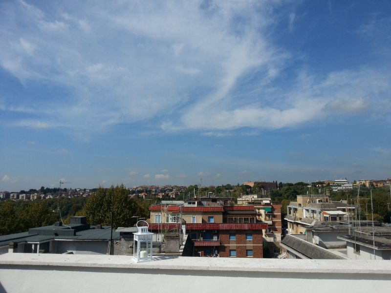 View from the terrace Location Apartment 91428 Rome