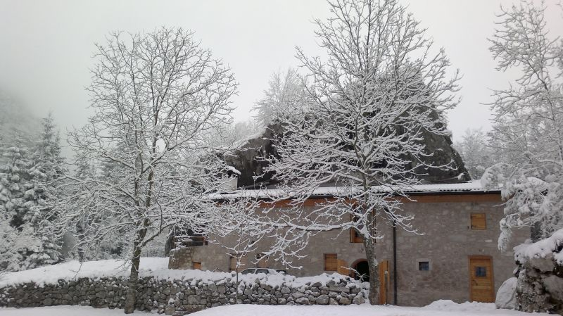 View of the property from outside Location Chalet 93103 Molveno