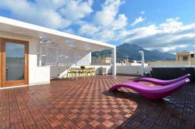 View from the terrace Location Apartment 101904 San Vito lo Capo