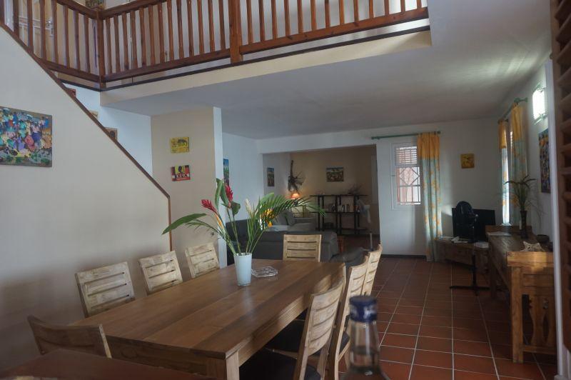 Dining room Location Villa 102539 Saint Francois