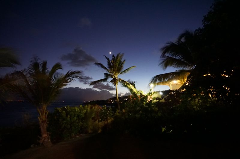 View from the terrace Location Villa 102539 Saint Francois