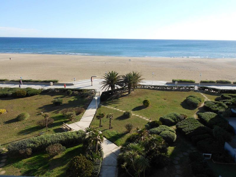 View from the terrace Location One-room apartment 105655 Canet-en-Roussillon
