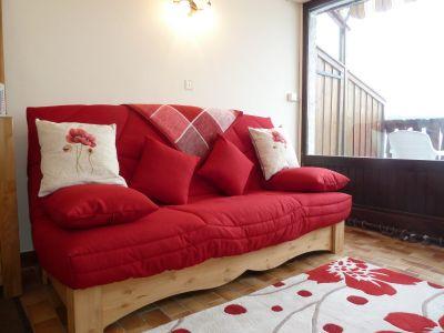 Living room Location One-room apartment 106489 Champagny en Vanoise