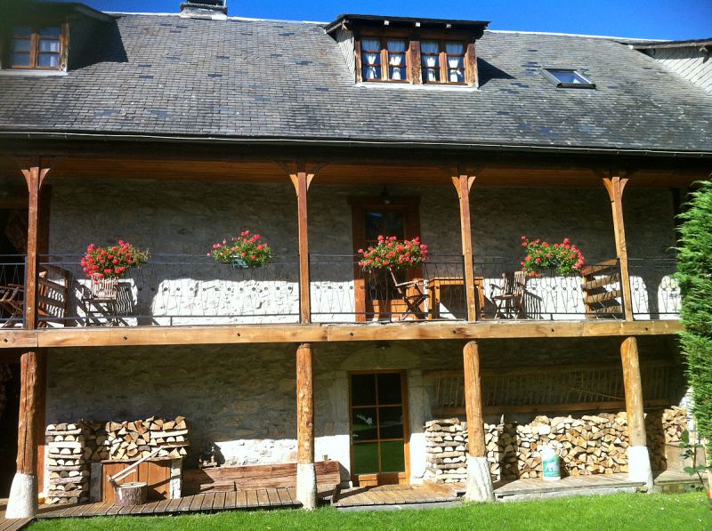 View of the property from outside Location Chalet 112169 Saint Lary Soulan