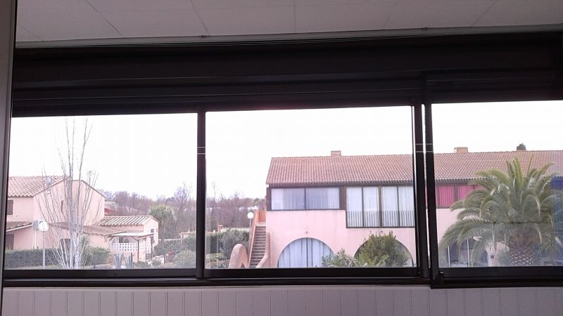 Covered balcony Location One-room apartment 113321 Saint Cyprien Plage