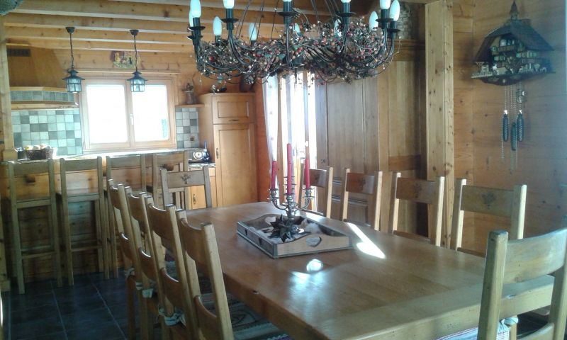 Dining room Location Chalet 117440 La joue du Loup