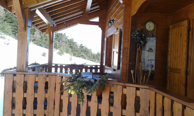 View of the property from outside Location Chalet 117440 La joue du Loup