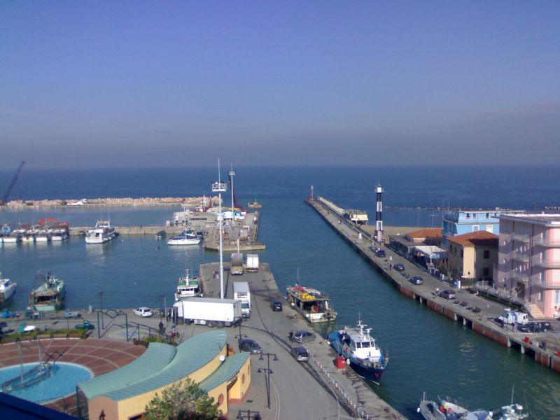 View from the balcony Location Apartment 82196 Cattolica