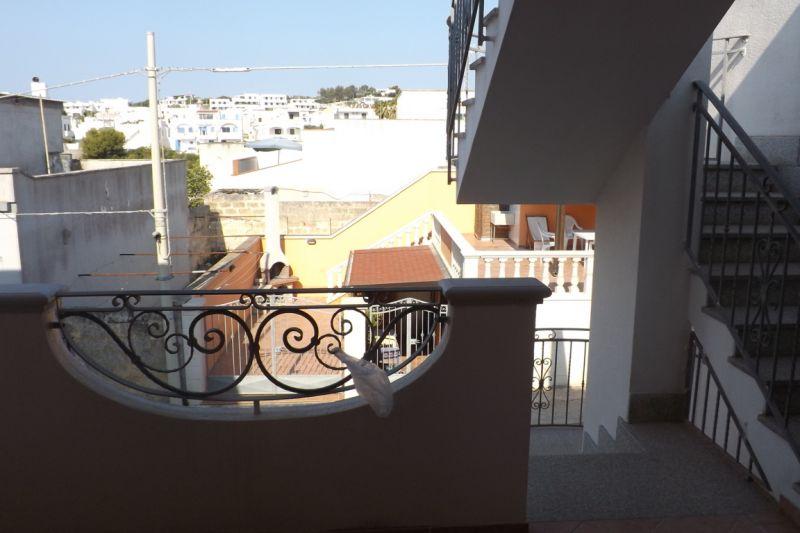 View from the balcony Location Apartment 84118 Santa Maria di Leuca