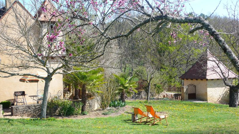 View from the terrace Location House 91676 Sarlat