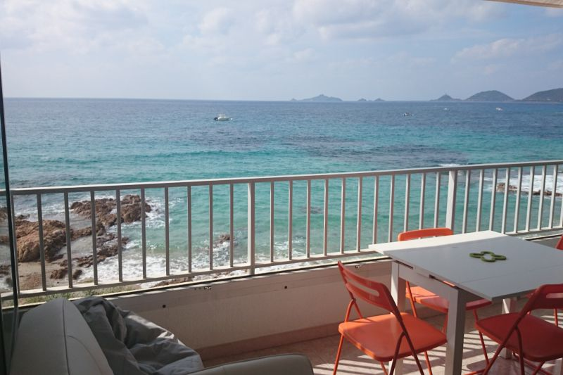 View from the property Location One-room apartment 95253 Ajaccio