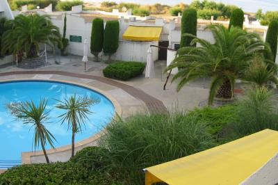 View from the balcony Location Apartment 95322 La Grande Motte