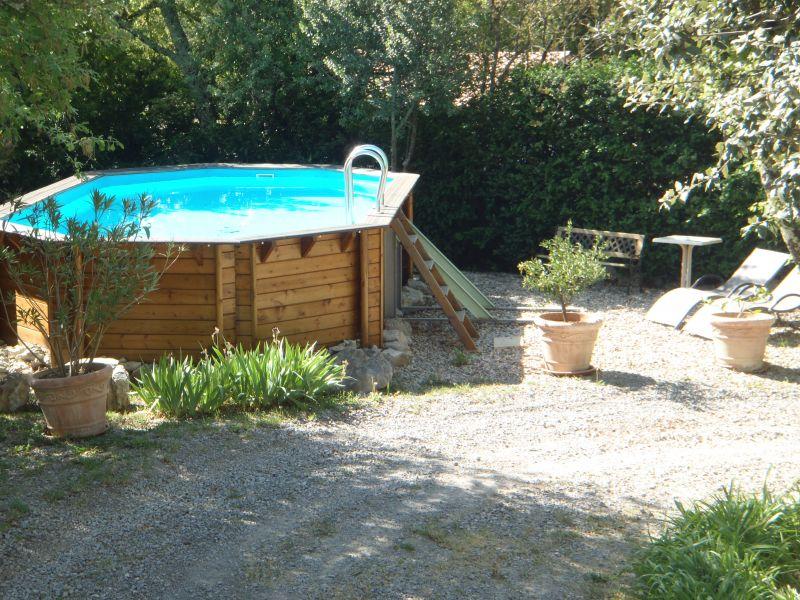 Swimming pool Location Vacation rental 112484 Vallon-Pont-D'Arc